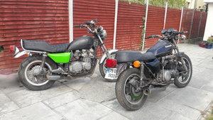 1979 Kawasaki Z650 - two bikes Job lot For Sale