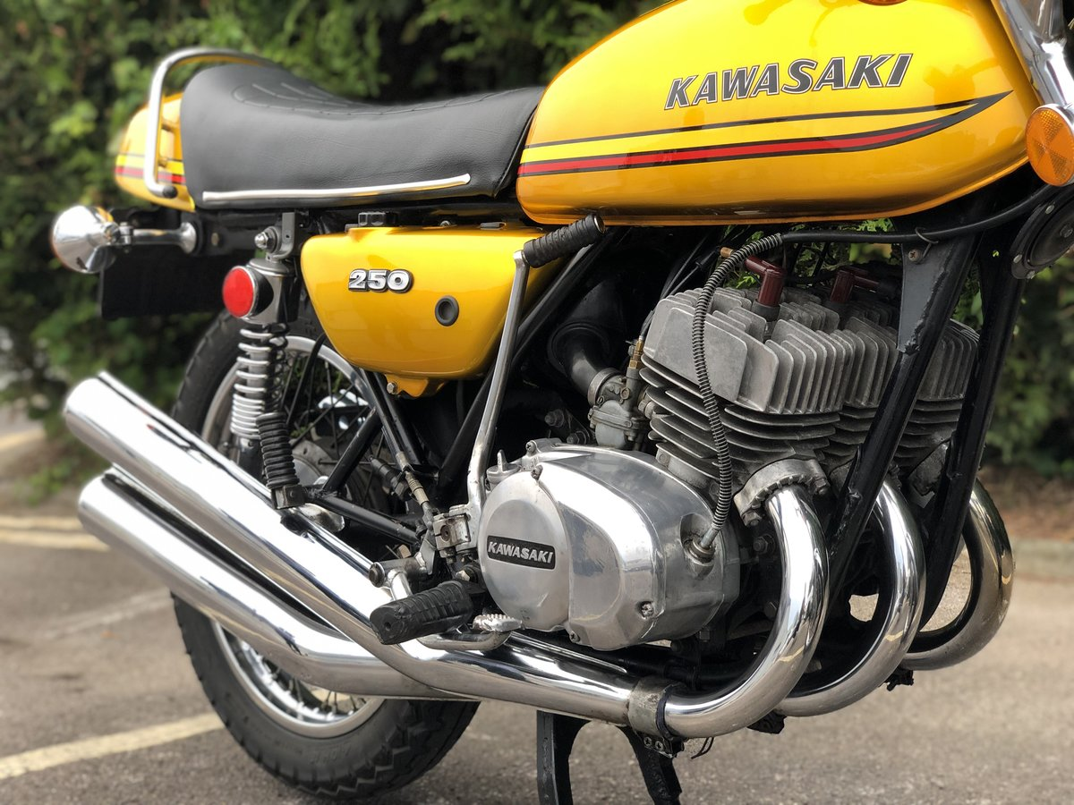 Kawasaki S1 250cc 1973 Gold !! SOLD (picture 4 of 6)