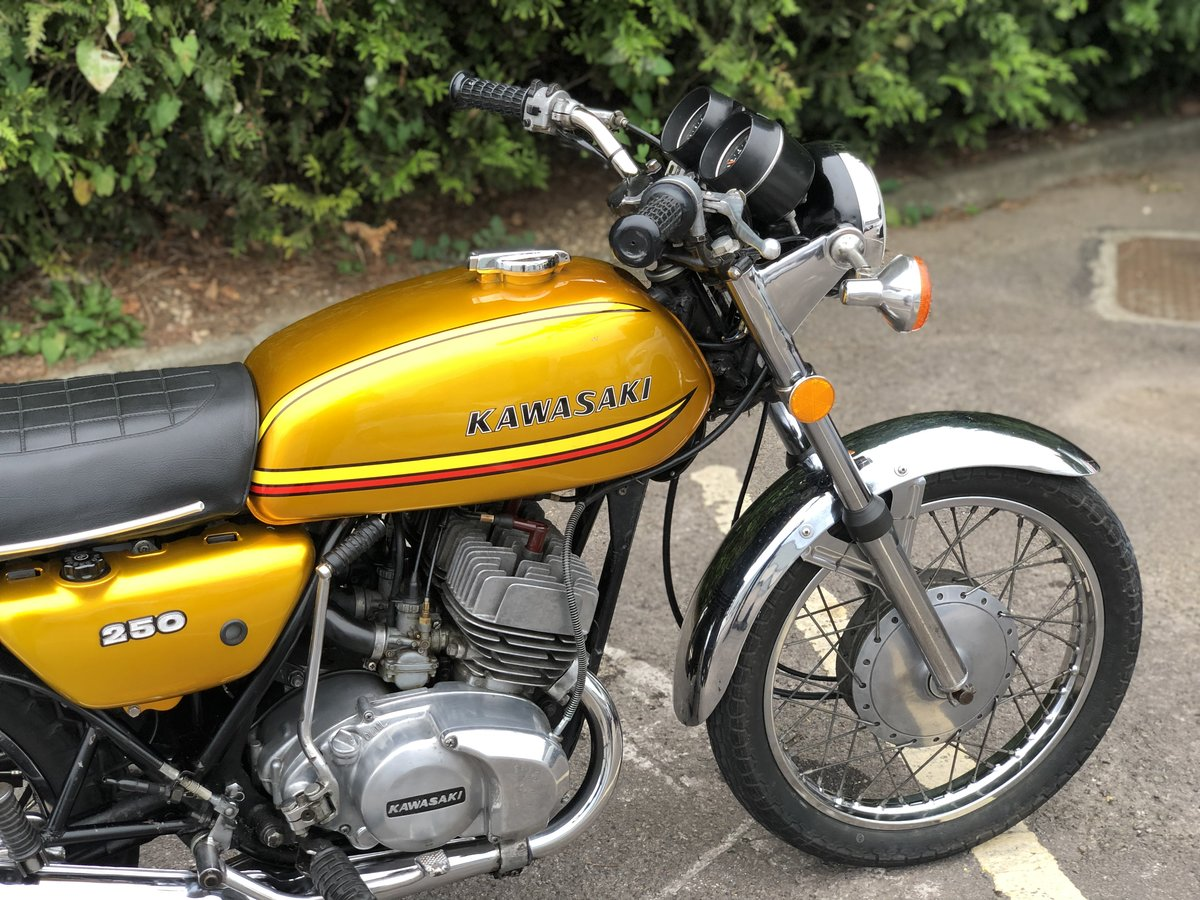 Kawasaki S1 250cc 1973 Gold !! SOLD (picture 6 of 6)