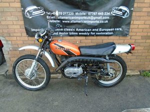 1975 KAWASAKI KE250 F11 B ORANGE JUST 2K! RARE ROAD LEGAL BIKE SOLD