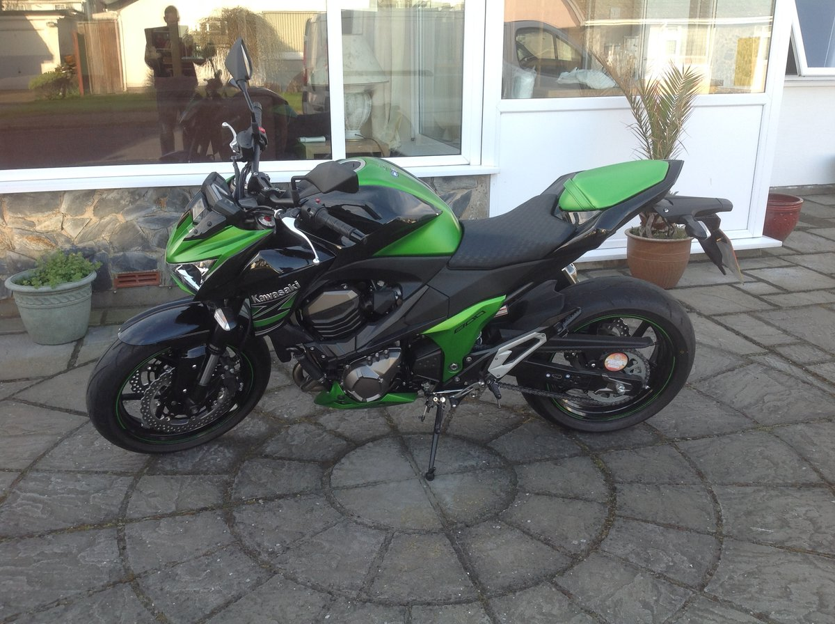 2015 Kawasaki Z800 For Sale (picture 1 of 3)