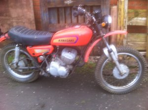 1971 Kawasaki f8 250cc bison trail/enduro bike