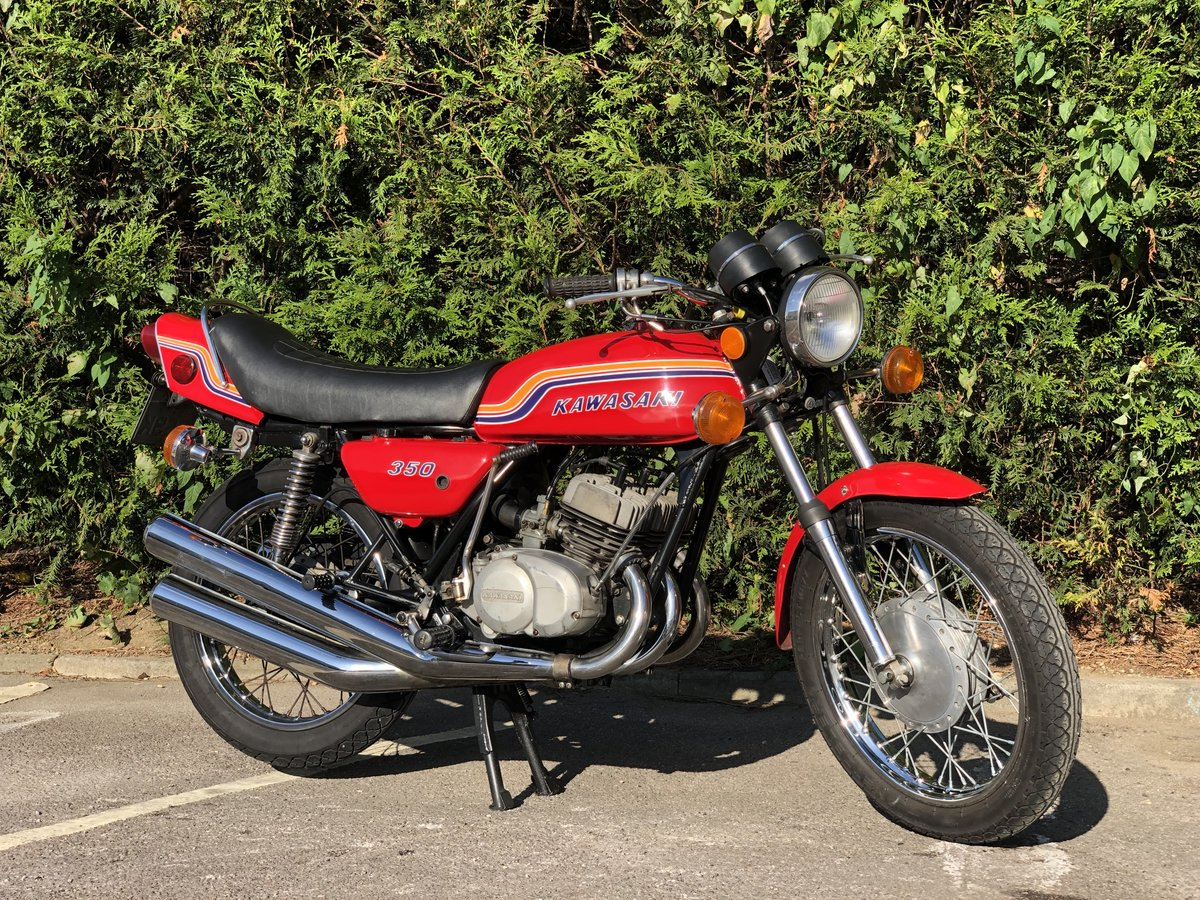 Kawasaki S2 350cc 1972 Very Original  For Sale (picture 1 of 6)
