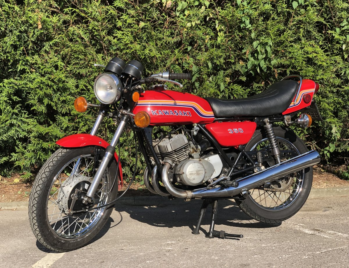 Kawasaki S2 350cc 1972 Very Original  For Sale (picture 2 of 6)
