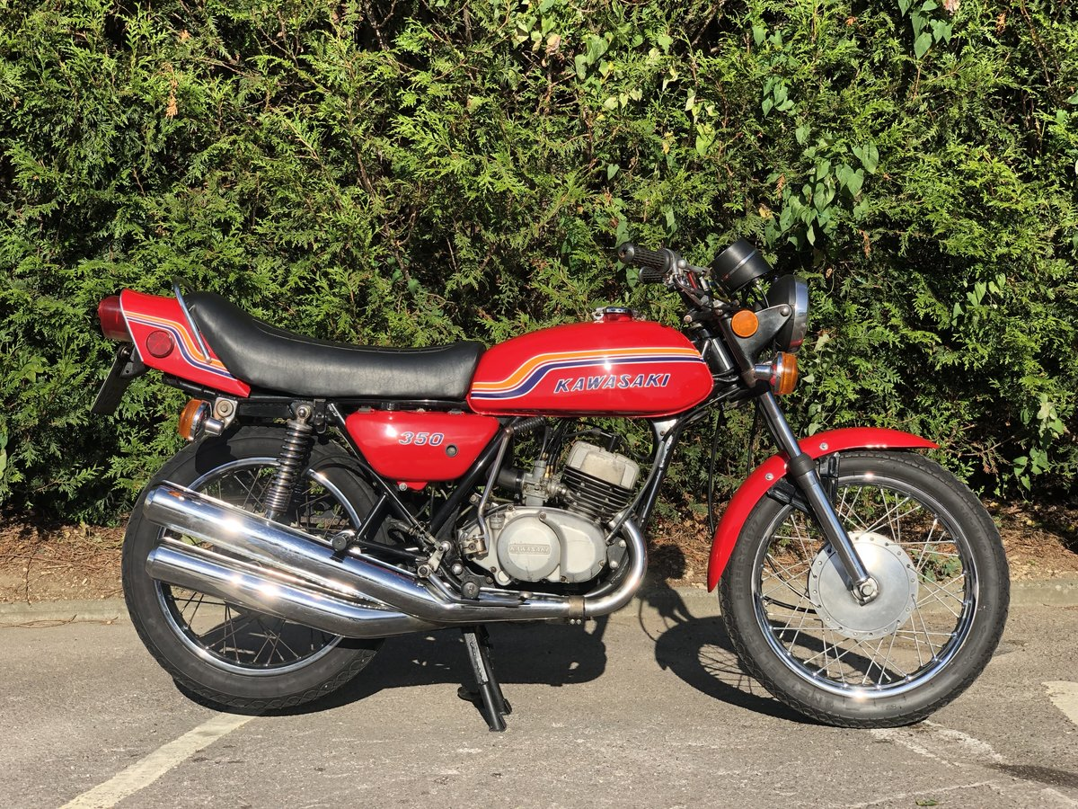 Kawasaki S2 350cc 1972 Very Original  For Sale (picture 3 of 6)