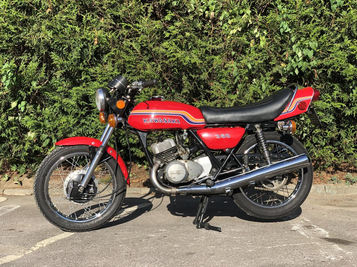 Kawasaki S2 350cc 1972 Very Original  For Sale (picture 4 of 6)
