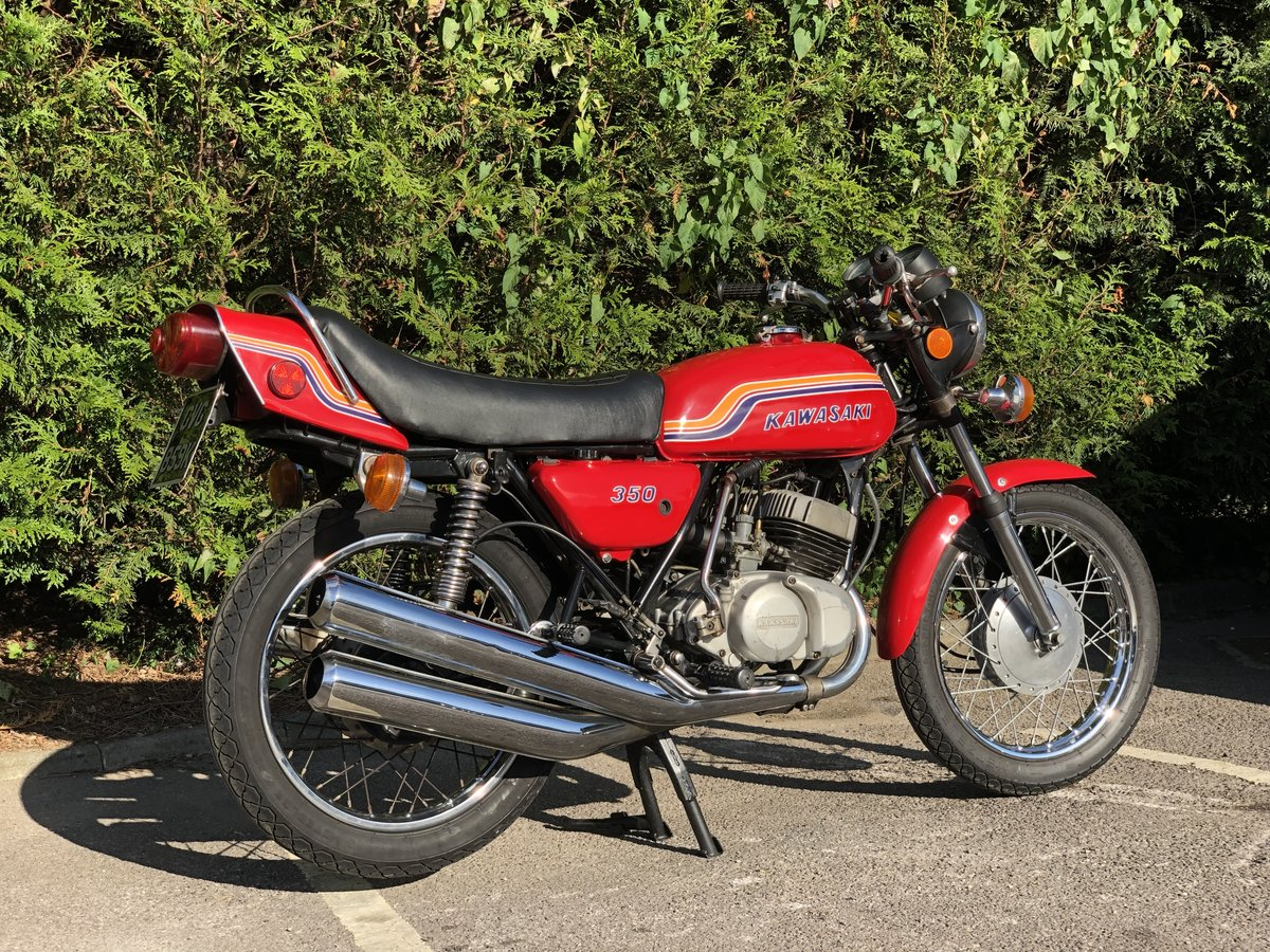 Kawasaki S2 350cc 1972 Very Original  For Sale (picture 5 of 6)