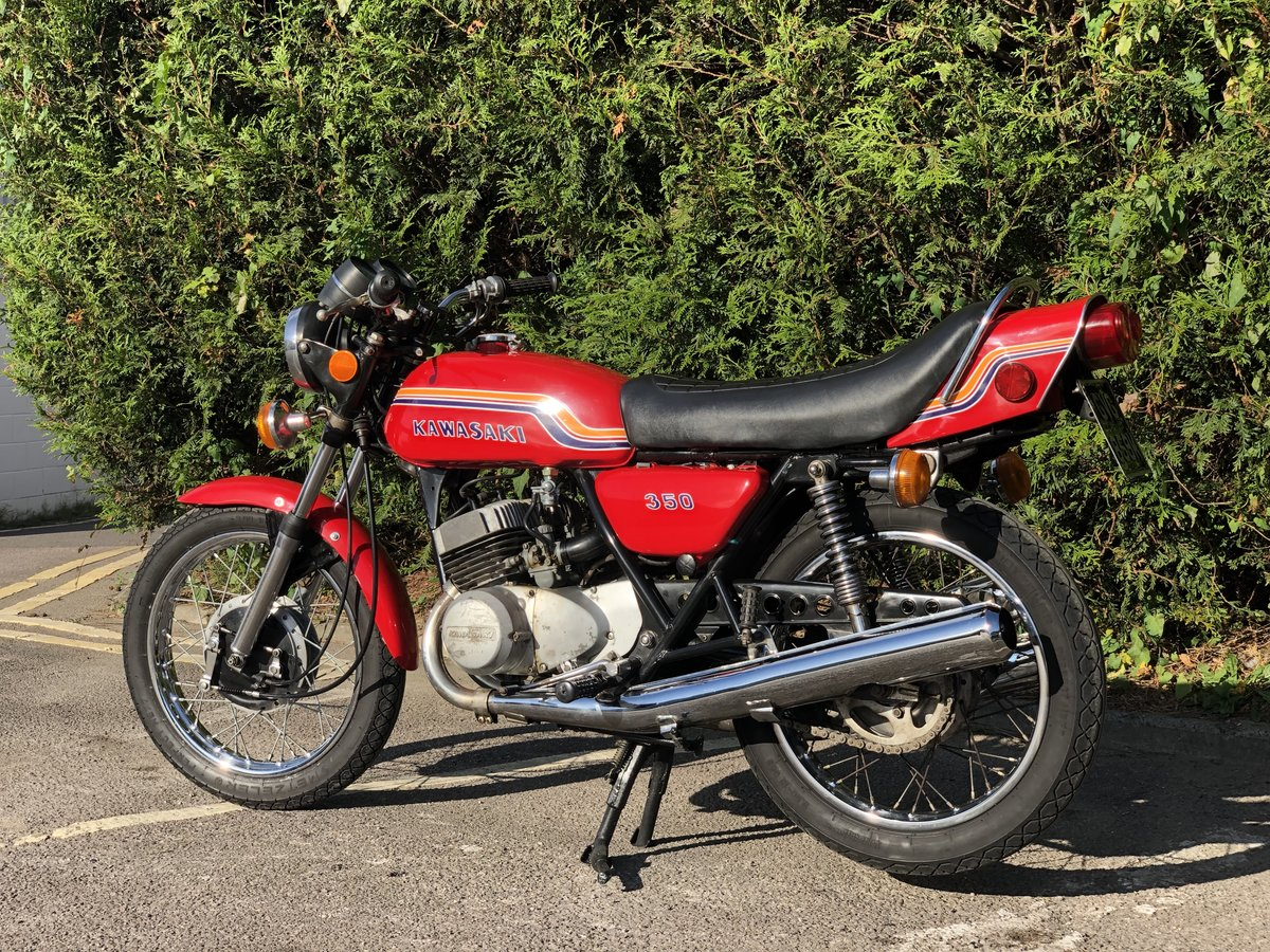 Kawasaki S2 350cc 1972 Very Original  For Sale (picture 6 of 6)
