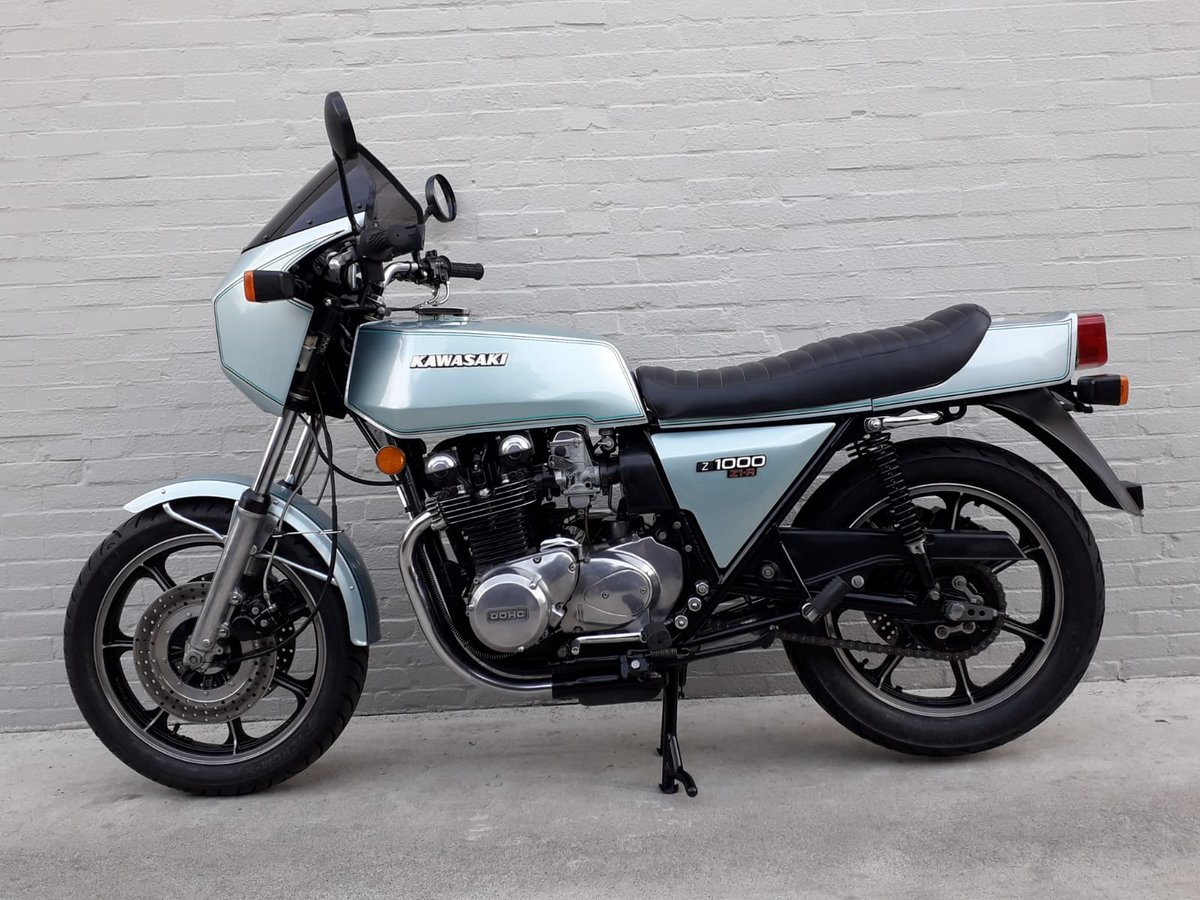 1980 Kawasaki Z1R with low miles For Sale (picture 3 of 6)