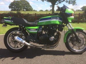 1985 Kawasaki Z1100R