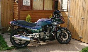 Kawasaki GPZ900 ZX900 1987 A4