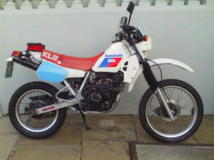 1985 KAWASAKI KLR 250 ENDURO For Sale