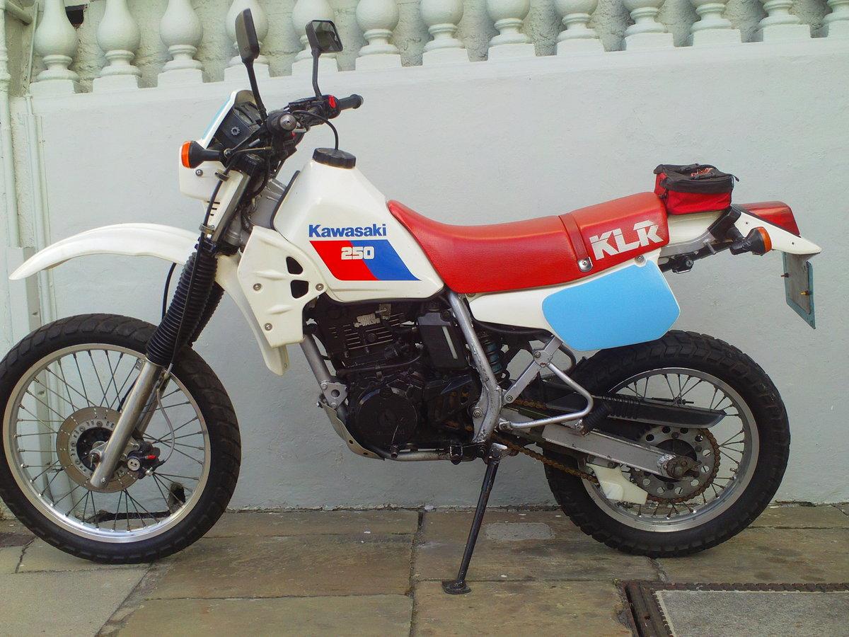 1985 KAWASAKI KLR 250 ENDURO SOLD (picture 3 of 6)