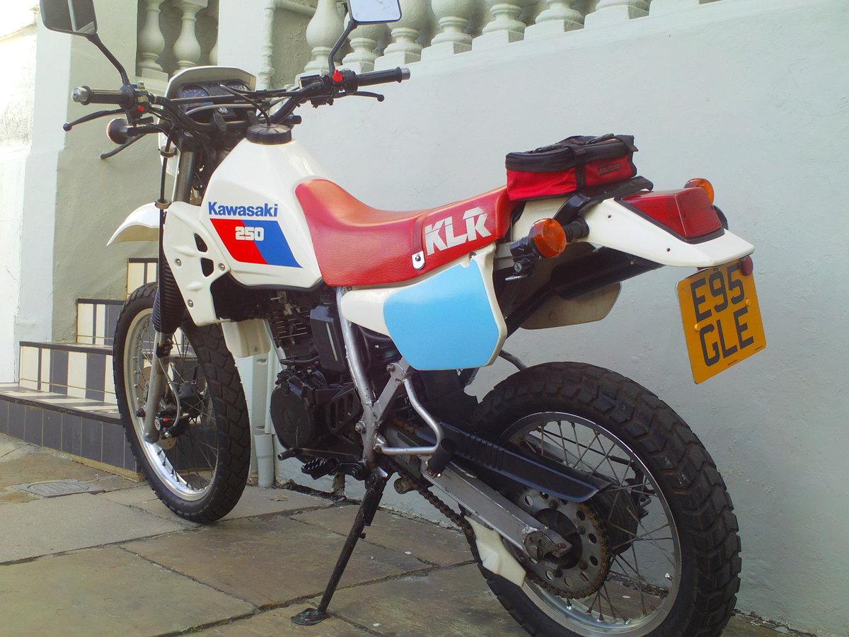 1985 KAWASAKI KLR 250 ENDURO SOLD (picture 4 of 6)
