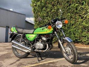 Green Kawasaki KH 250 1976  For Sale