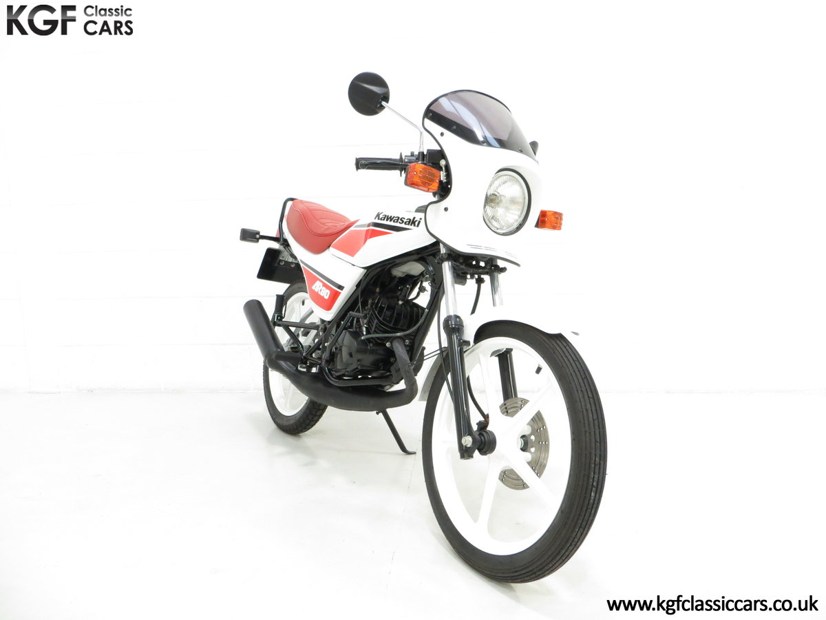 1987 An Absolutely Stunning Fully Restored UK Kawasaki AR80-C5 SOLD (picture 1 of 6)