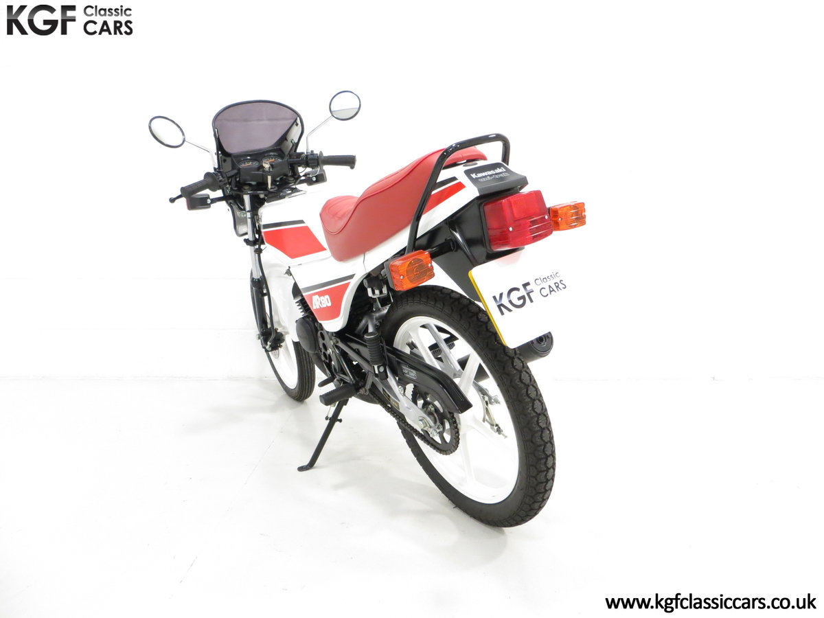 1987 An Absolutely Stunning Fully Restored UK Kawasaki AR80-C5 SOLD (picture 4 of 6)