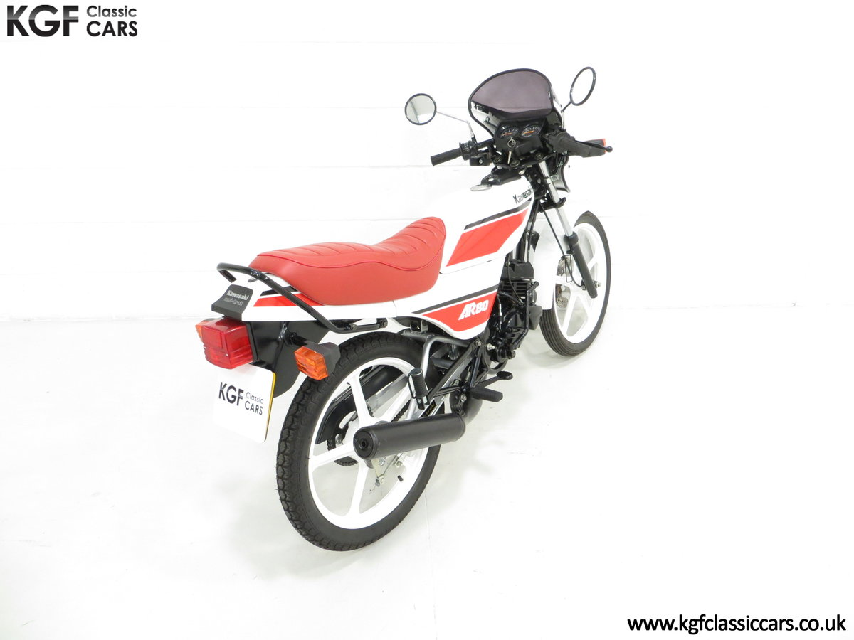 1987 An Absolutely Stunning Fully Restored UK Kawasaki AR80-C5 SOLD (picture 5 of 6)