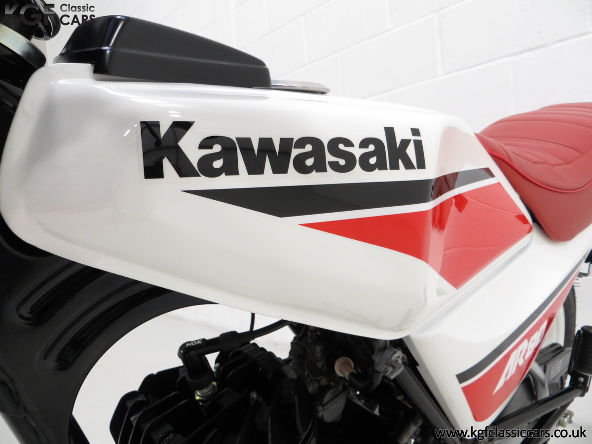 1987 An Absolutely Stunning Fully Restored UK Kawasaki AR80-C5 SOLD (picture 6 of 6)