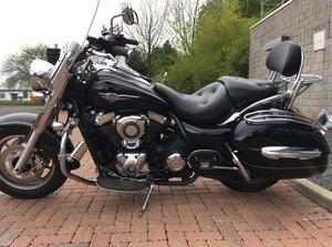 Kawasaki vn1700 classic tourer 2011