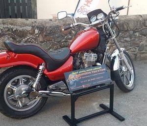1990 Kawasaki EN 500, 498 cc. For Sale by Auction