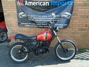 KAWASAKI KE175 ENDURO STYLE BIKE(1981) RED!  For Sale