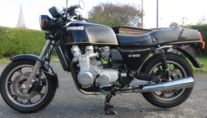 1979 Kawasaki z1300 lovely ebony black.  For Sale