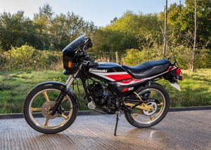 1987 Kawasaki AR50 SOLD by Auction