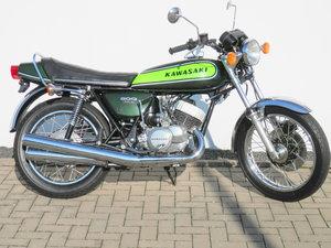 1973 Kawasaki 500 H1 D Mach III Triple For Sale