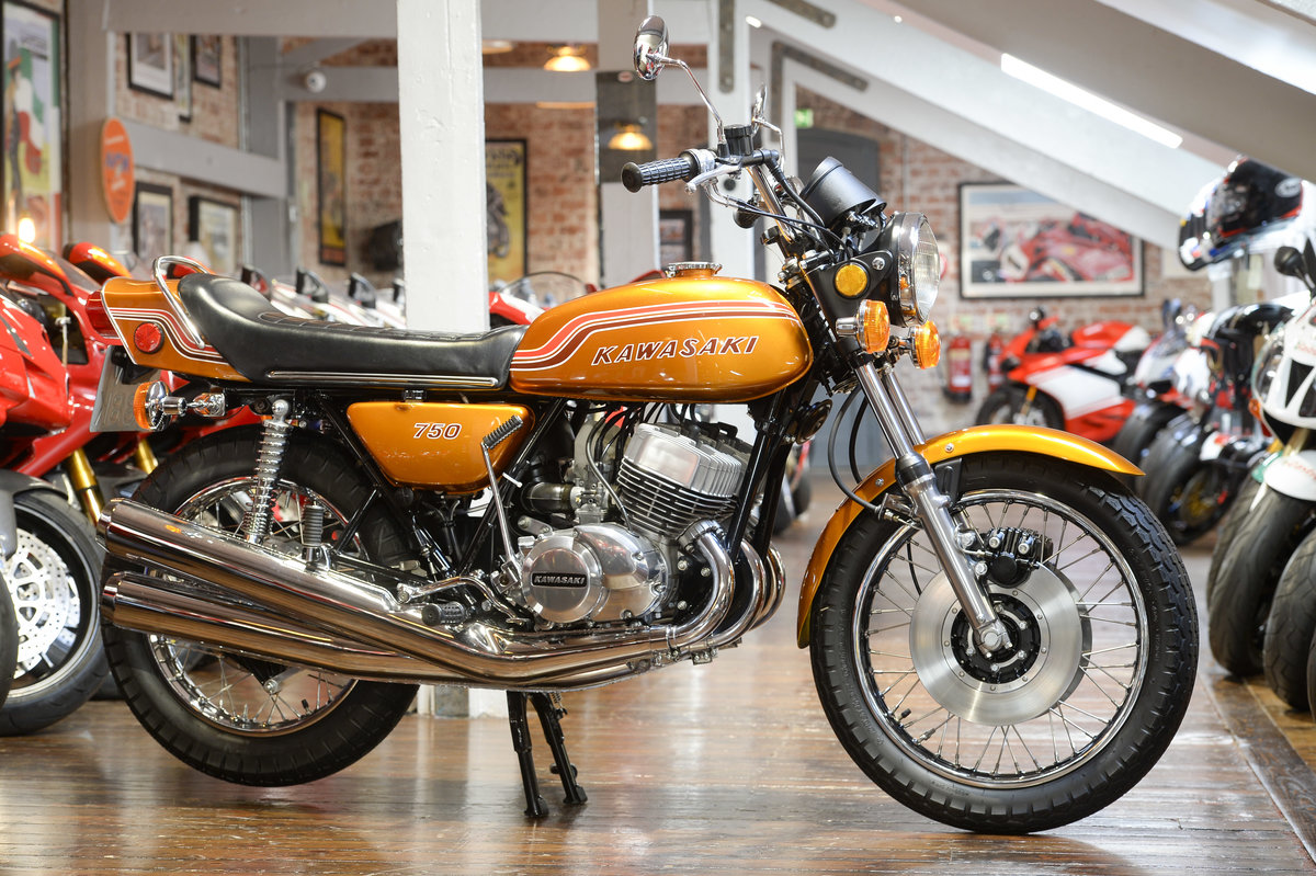 1972 Kawasaki H2 750 Mach IV Stunning Concours Example For Sale (picture 1 of 6)