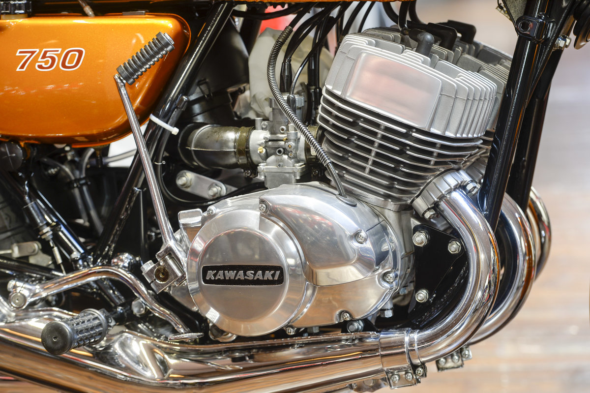 1972 Kawasaki H2 750 Mach IV Stunning Concours Example For Sale (picture 2 of 6)