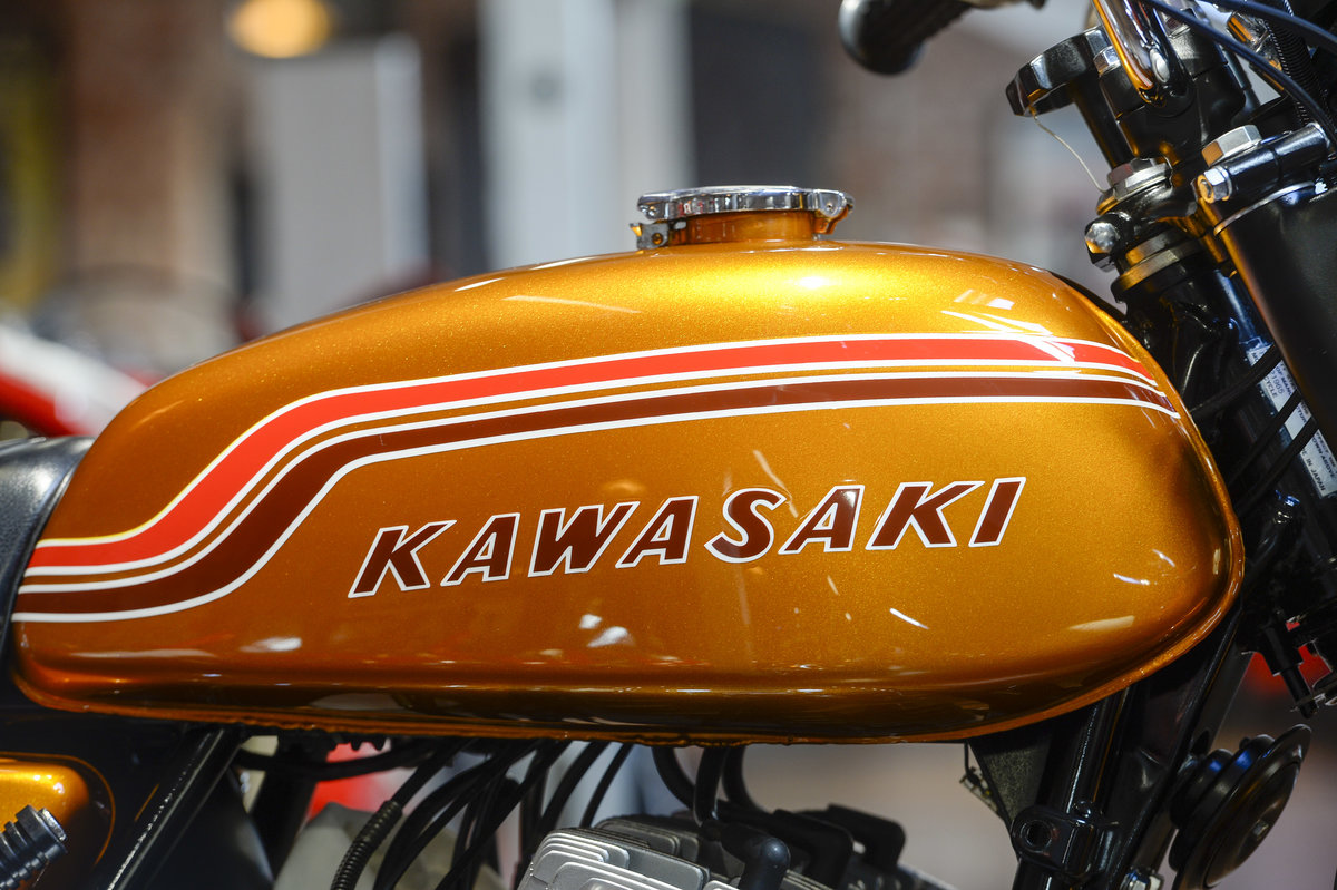 1972 Kawasaki H2 750 Mach IV Stunning Concours Example For Sale (picture 3 of 6)