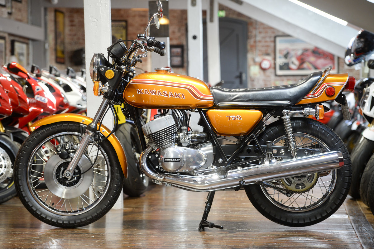 1972 Kawasaki H2 750 Mach IV Stunning Concours Example For Sale (picture 6 of 6)