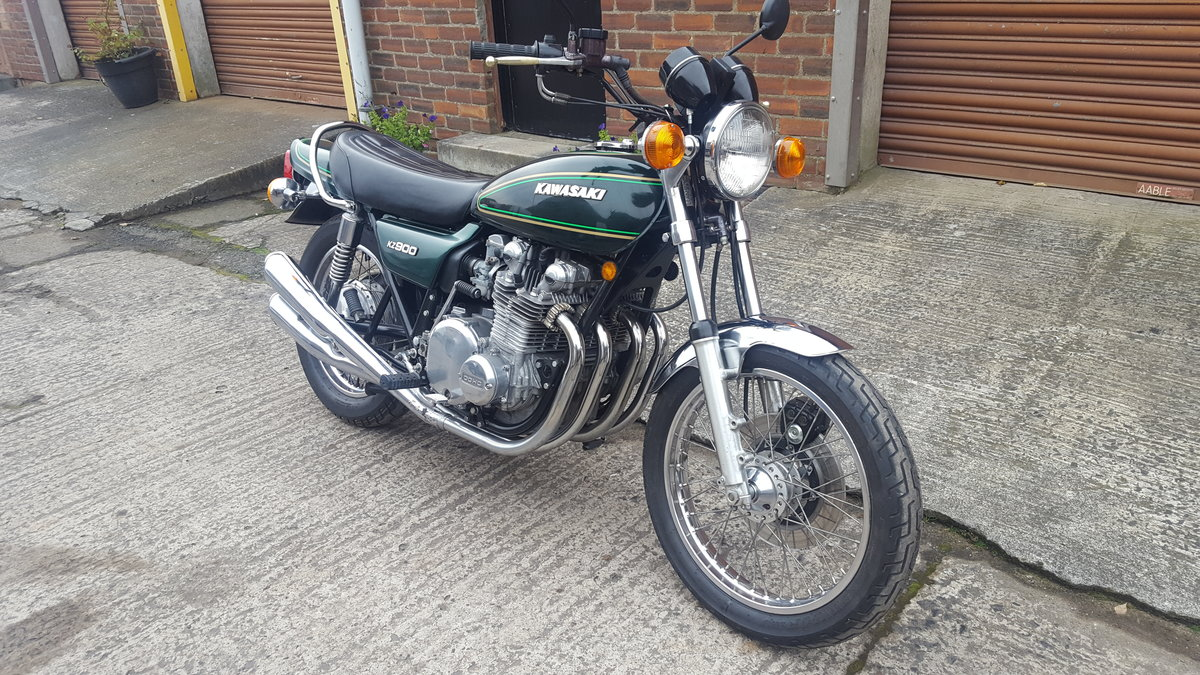 1976 Kawasaki Z900, SOLD, awaiting collection SOLD (picture 1 of 6)