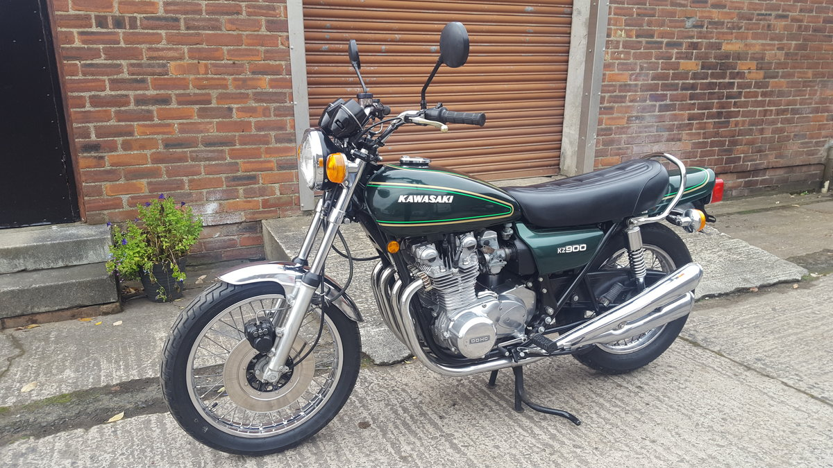1976 Kawasaki Z900, SOLD, awaiting collection SOLD (picture 2 of 6)