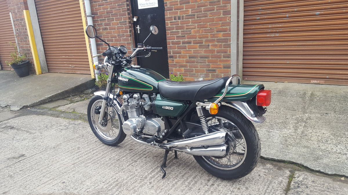 1976 Kawasaki Z900, SOLD, awaiting collection SOLD (picture 3 of 6)
