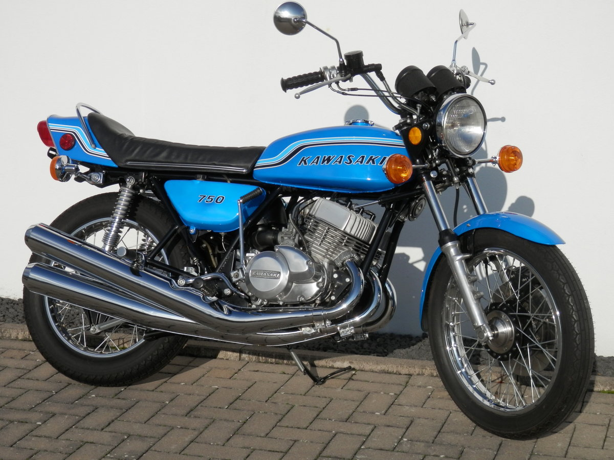 1972 Kawasaki 750 H2 Mach IV restored original 19.804 miles For Sale (picture 1 of 6)