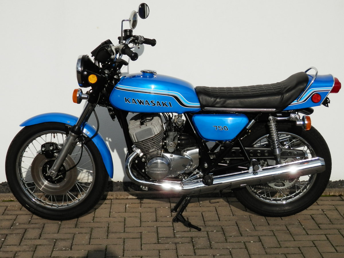 1972 Kawasaki 750 H2 Mach IV restored original 19.804 miles For Sale (picture 4 of 6)
