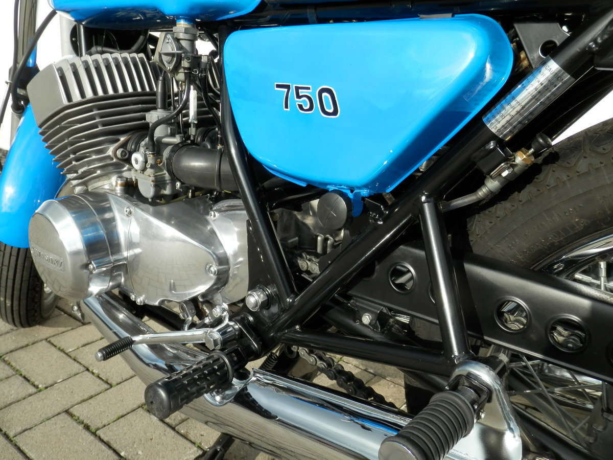 1972 Kawasaki 750 H2 Mach IV restored original 19.804 miles For Sale (picture 6 of 6)