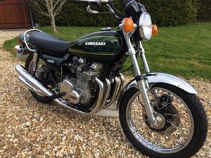 1976 Kawasaki Z900 fantastic, full rebuild