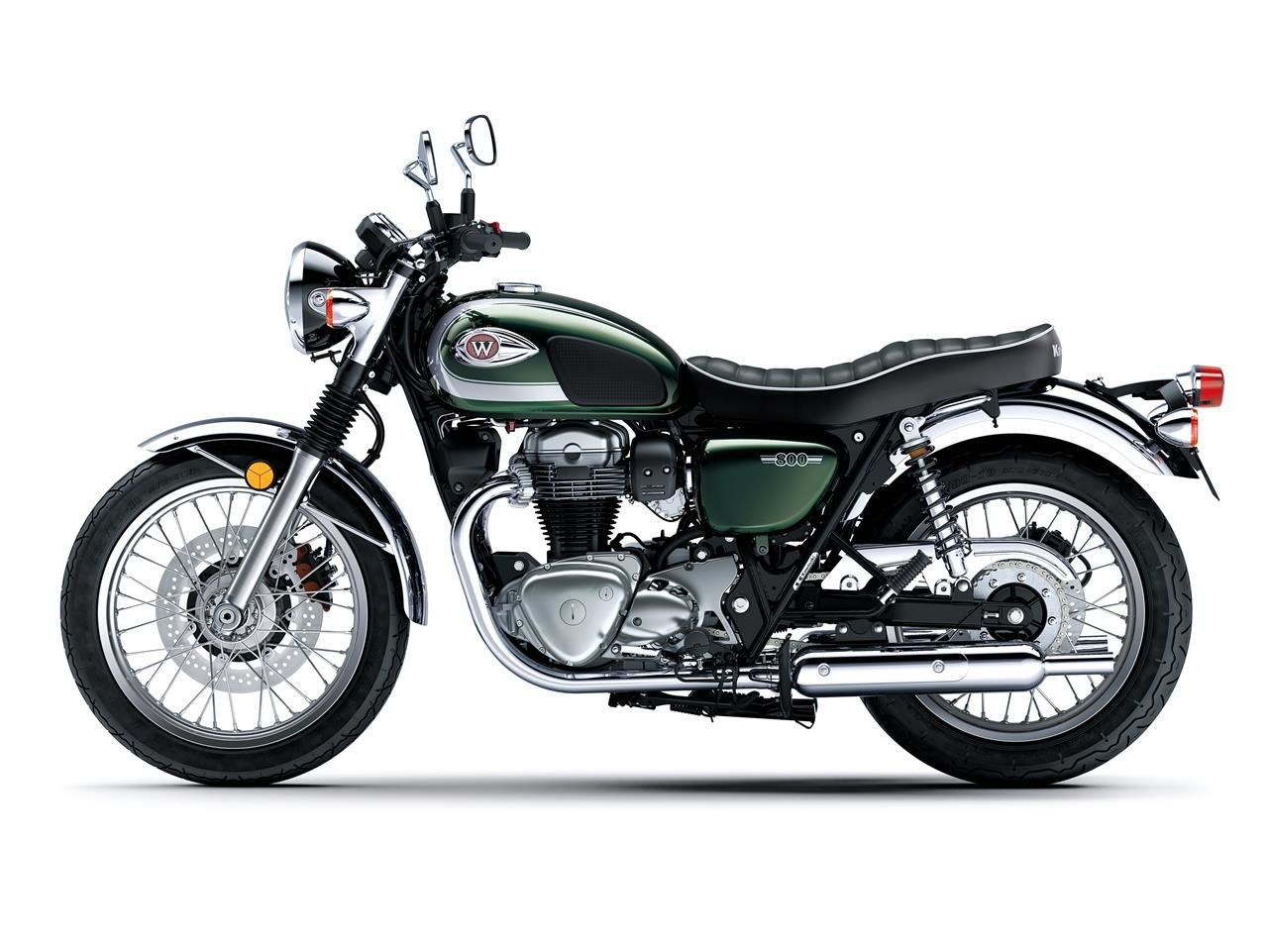 New 2020 Kawasaki W800 ABS **IN STOCK WITH FREE DELIVERY** For Sale (picture 3 of 6)