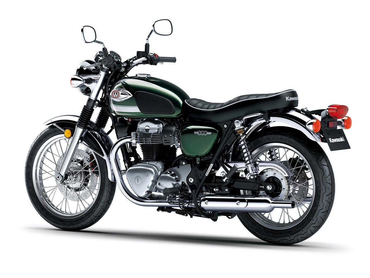 New 2020 Kawasaki W800 ABS **IN STOCK WITH FREE DELIVERY** For Sale (picture 4 of 6)