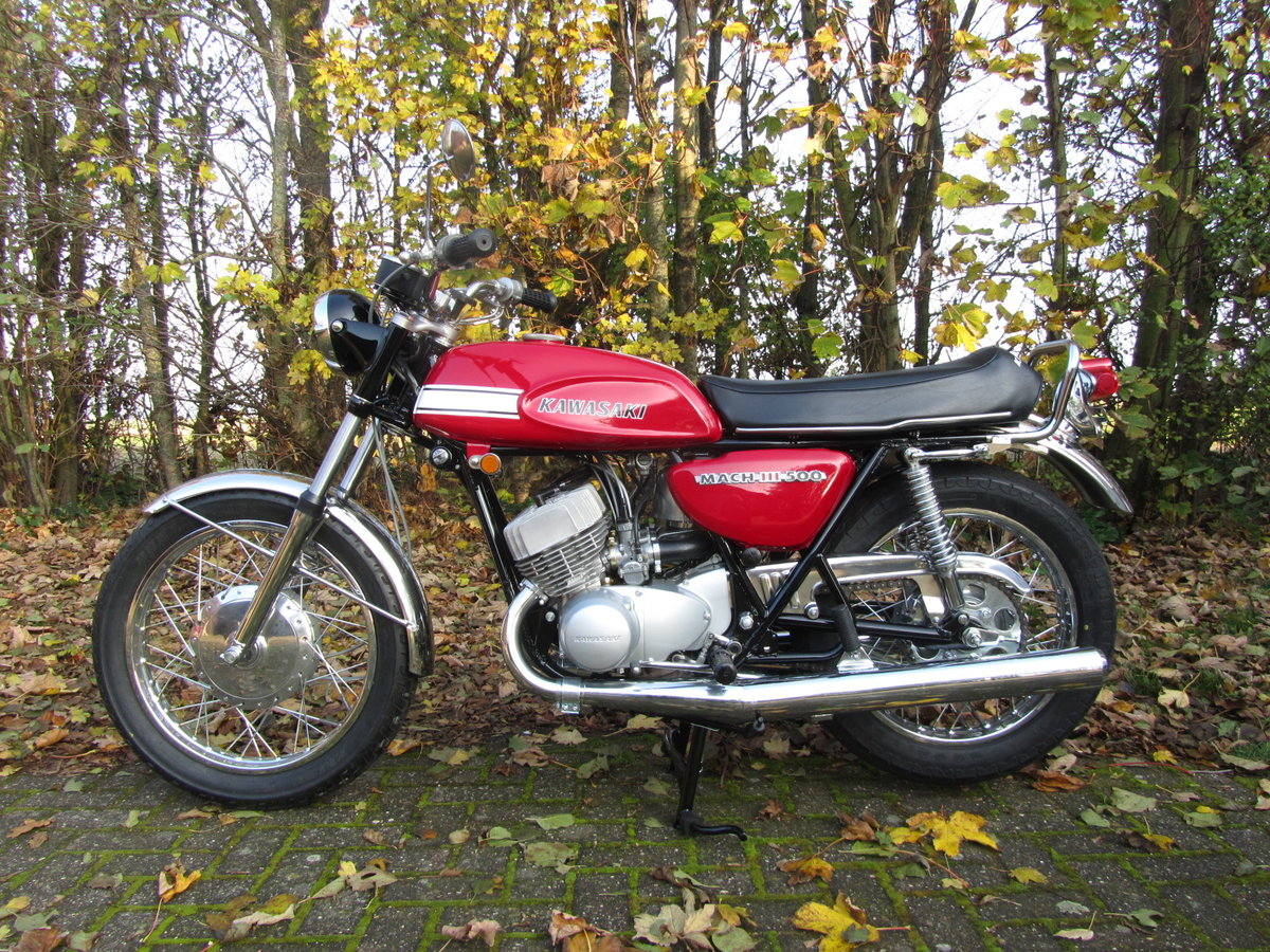 1970 Kawasaki H1-500 Mach III   For Sale (picture 1 of 6)