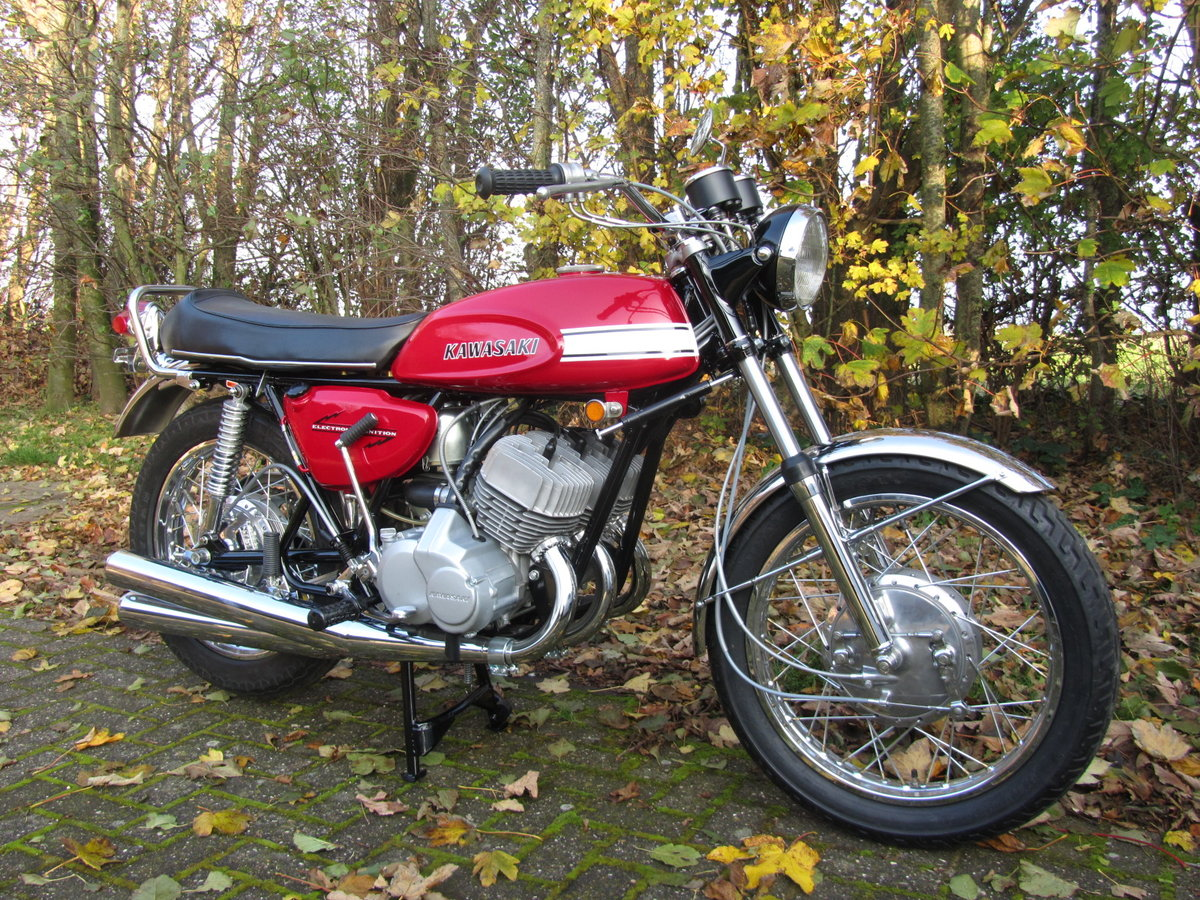 1970 Kawasaki H1-500 Mach III   For Sale (picture 2 of 6)