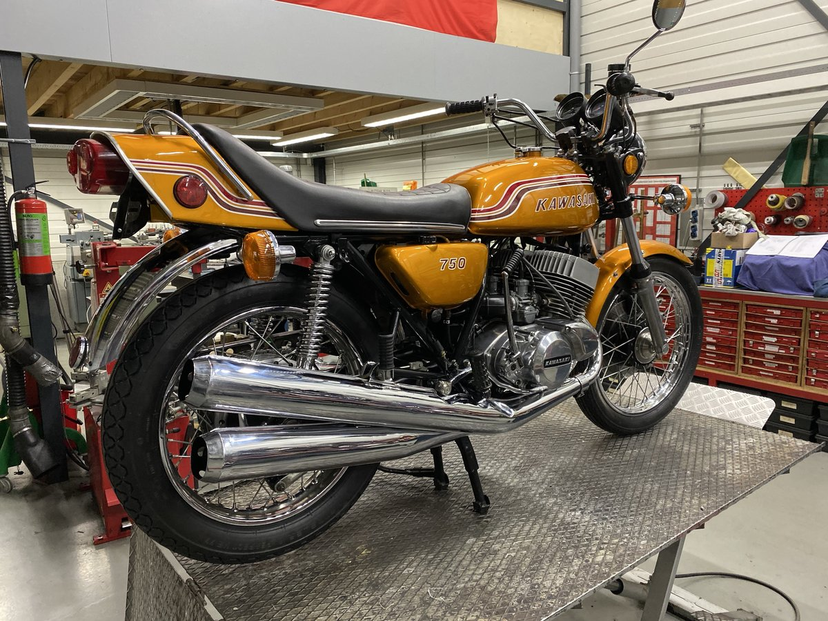 1972 Kawasaki H2 750 mach IV  For Sale (picture 2 of 6)