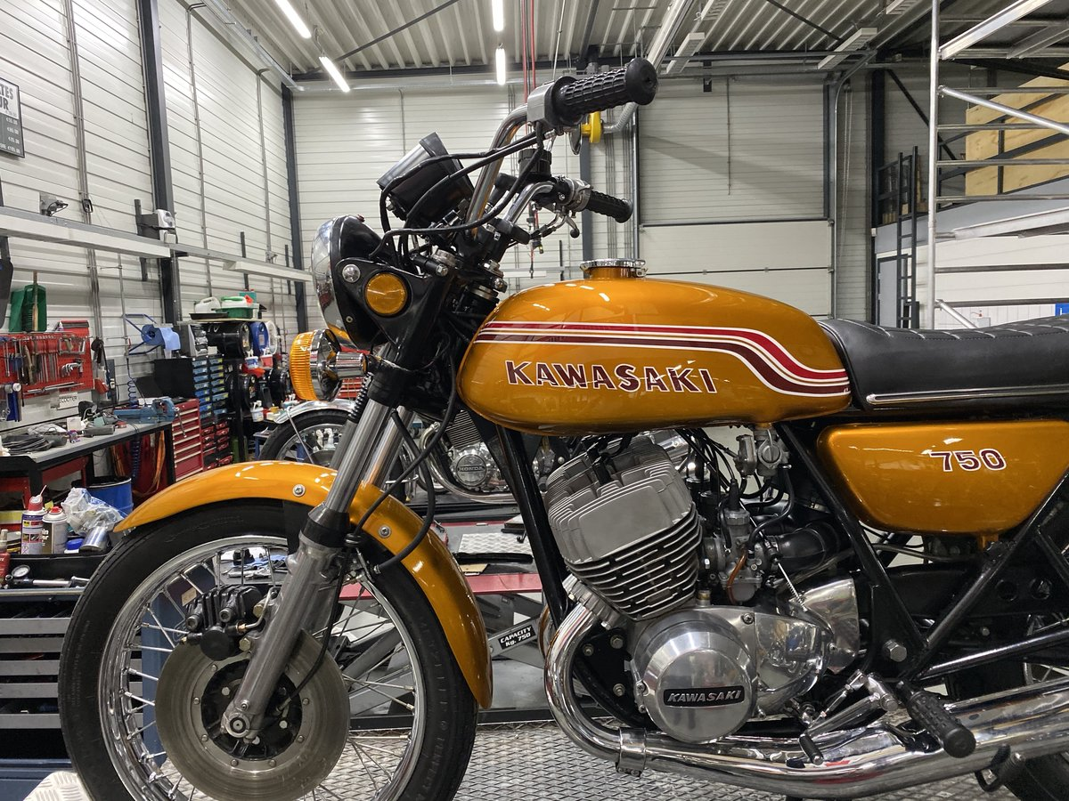 1972 Kawasaki H2 750 mach IV  For Sale (picture 5 of 6)