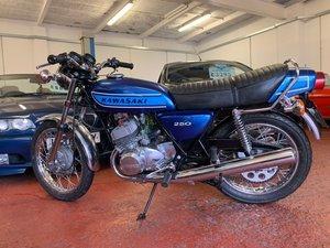 1975 Kawasaki S1 250