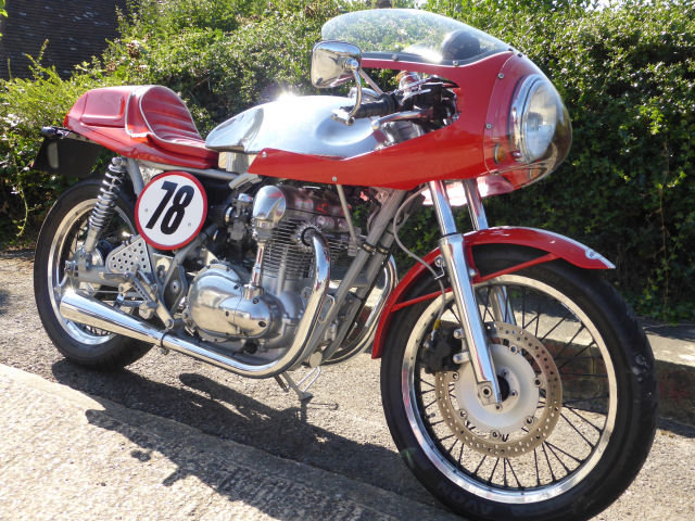 2002 KAWASAKI W650 'Cafe Racer' For Sale (picture 1 of 3)