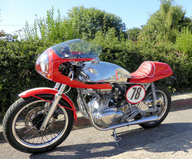 2002 KAWASAKI W650 'Cafe Racer' For Sale (picture 2 of 3)