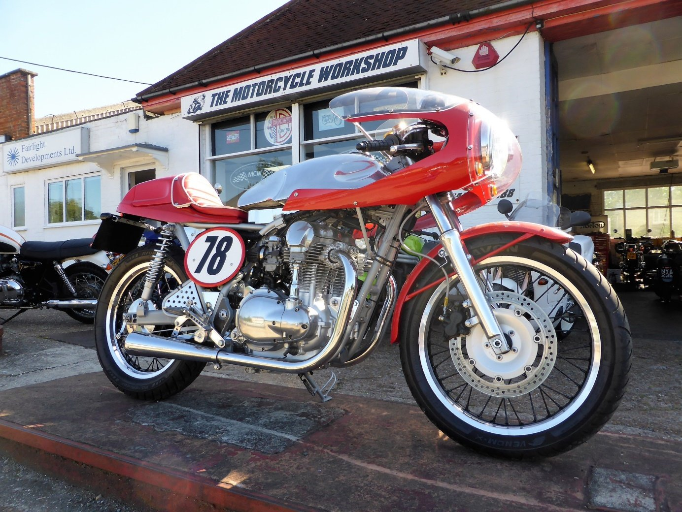 2002 KAWASAKI W650 'Cafe Racer' For Sale (picture 3 of 3)